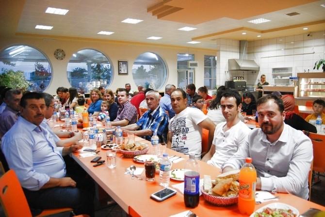 Malkara'da Sulama Kooperatifi İftarda Buluştu