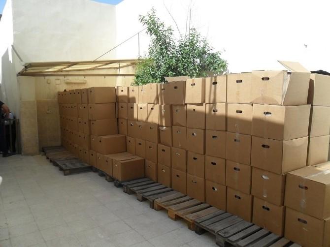 Bin 400 Aileye Gıda Yardımı