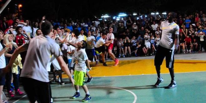 Bursalı Ali, NBA yıldızını şok etti