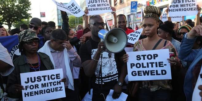Hollanda'da 200 gözaltı