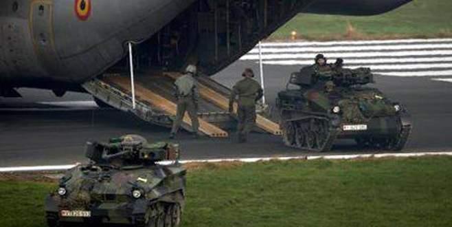 Belçika koalisyondan çekildi