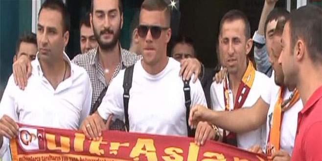 Podolski, İstanbul'da