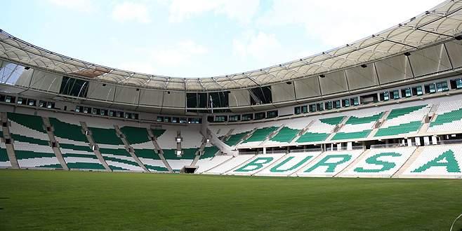 Timsah Arena yeşile büründü