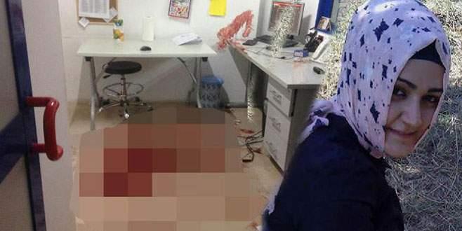 Soyguncu, kasiyer kızı altı yerinden bıçakladı