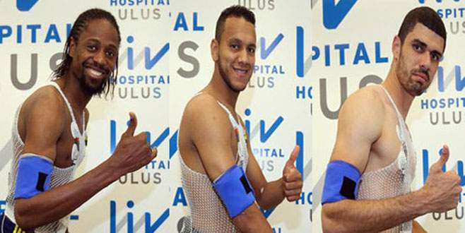 Fenerbahçe'nin yeni transferleri sağlık kontrolünden geçti