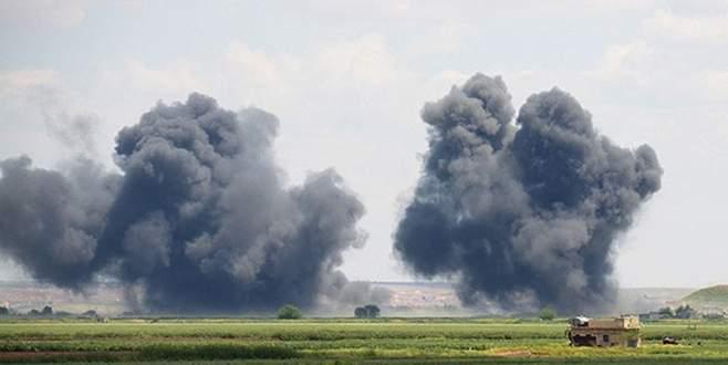 Rakka'da IŞİD'e en büyük saldırı