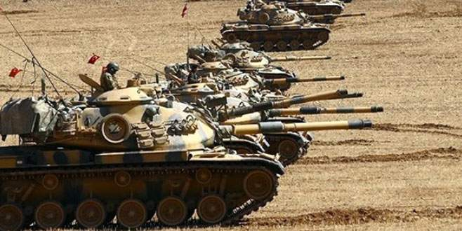 Tankların namluları IŞİD'e çevrildi