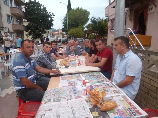 Osmaneli'de Avcılar İftarda Bir Araya Geldiler