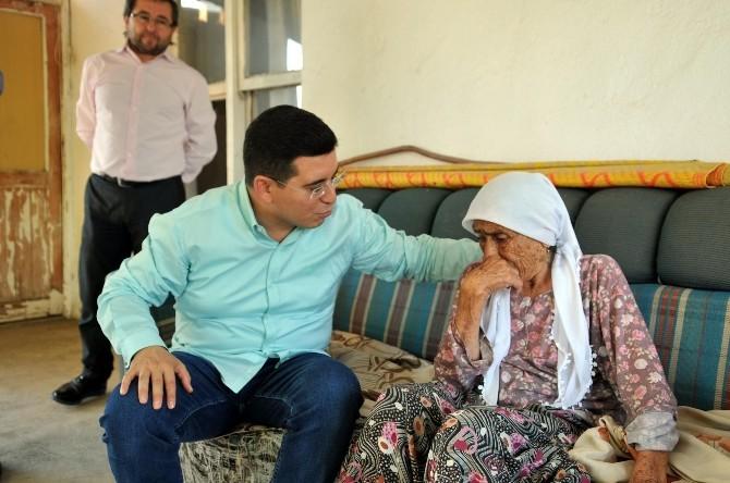 Başkan Tütüncü, Kore Gazisini Ziyaret Etti