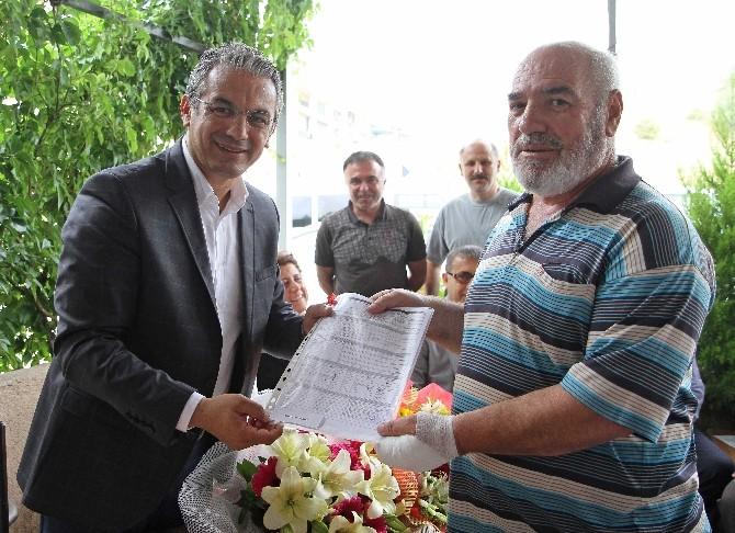 Karşıyaka'da 20 Yıllık Ruhsat Sorunu Çözüldü