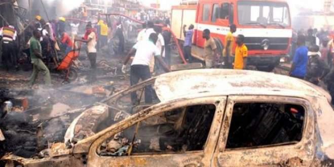 Kiliseye saldırı: 30 ölü