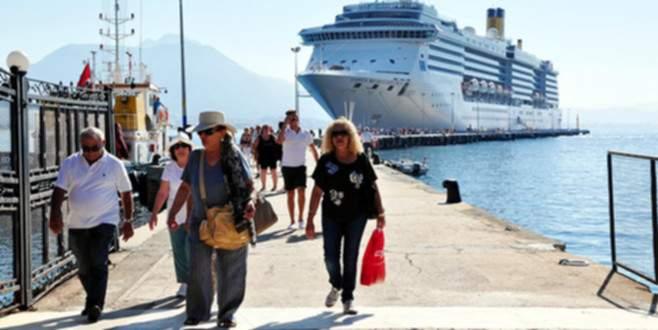 Antalya'ya gelen turist sayısı ne kadar?
