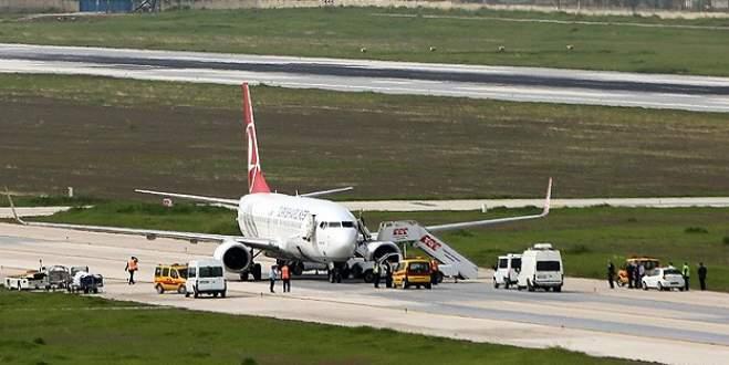 Bomba ihbarı yapılan THY uçağı temiz çıktı