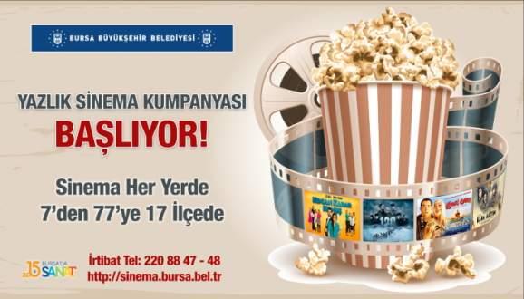 Bursa'da sinema kumpanyası başlıyor