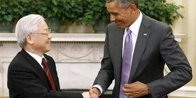 Komünist lider Beyaz Saray'da
