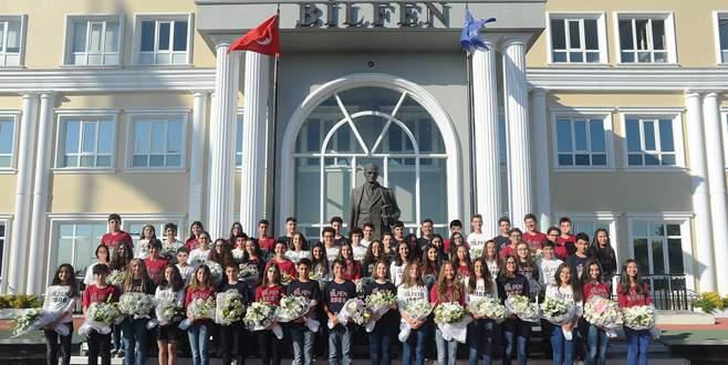 Türkiye'nin zirvesinde 62 Bilfenli