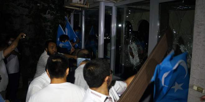 Tayland Başkonsolosluğu'na saldırı