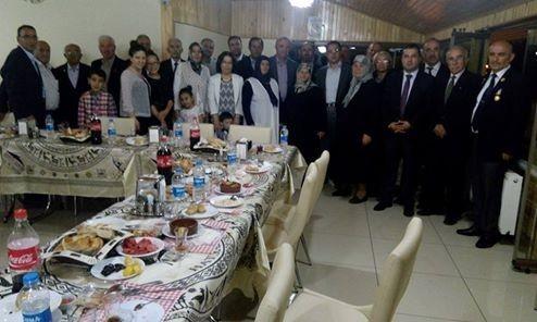 Kaymakam Sağ Şehit Aileleri Ve Gazilerle İftarda Buluştu