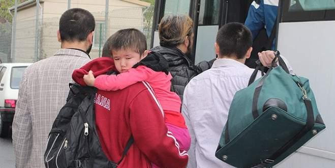 109 Uygur Türk'ü Çin'e gönderildi