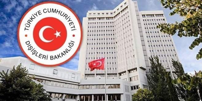 Türkiye'den Tayland'a tepki