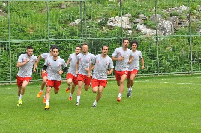 Samsunspor Yeni Sezona Hazırlanıyor