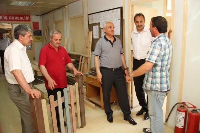 Başkan Başsoy'dan Belediye Atölyelerine Ziyaret