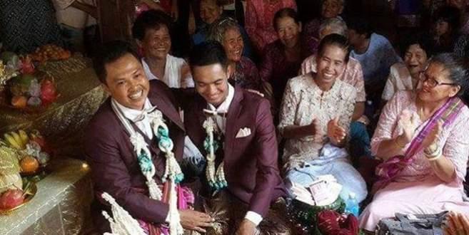 Başlık parası ile ilk eşcinsel evlilik gerçekleşti