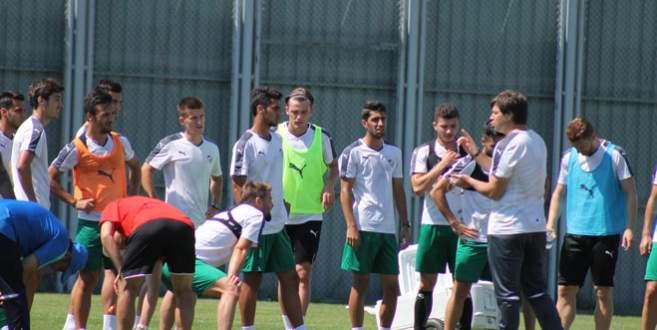 Bursaspor'da 'Sağlam' antrenman