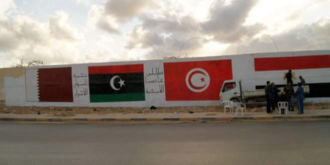 Libya'dan Tunus'a 'duvar' tepkisi