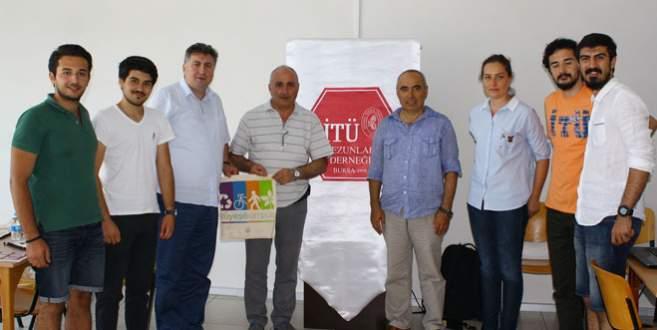 İTÜ Bursalı öğrencilerle buluştu