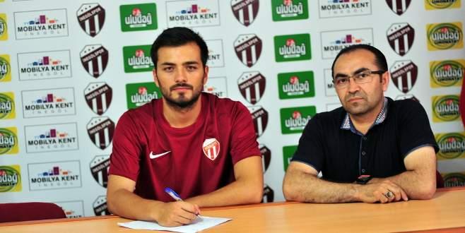 İnegölspor Ahmet Devret ile 2 yıllık sözleşme imzaladı