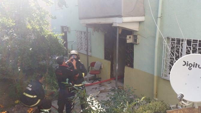 Bolu'da Müstakil Evde Çıkan Yangın Korkuttu