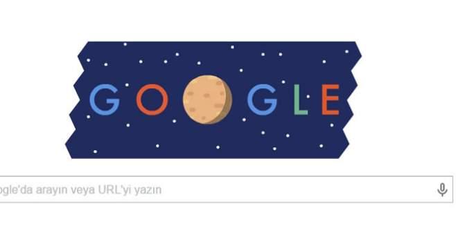 Google Plüton'u doodle yaptı