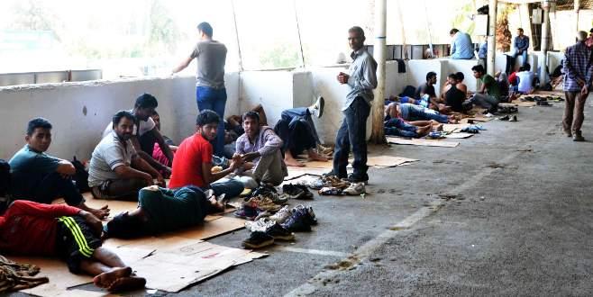 Suriyelilerden sonra onlar geldi