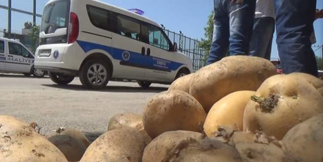 Bursa'da 'kaçak hal' operasyonu