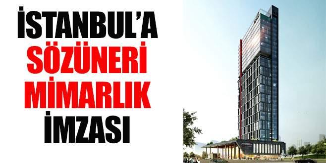 İstanbul'a Sözüneri Mimarlık imzası