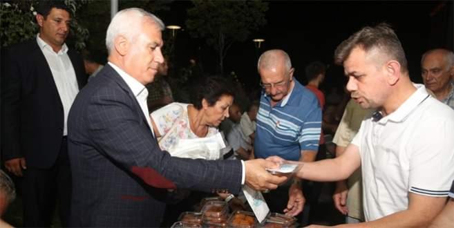 Bozbey 2 bin 500 kişi ile iftar açtı