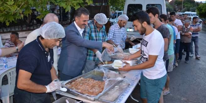 Umurbey'de iftar coşkusu