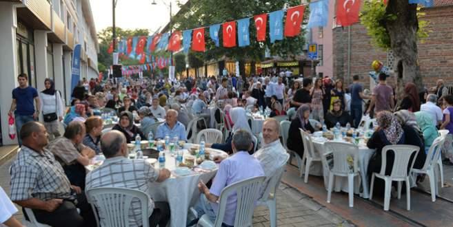 Bursa'da 12 bin kişilik dev iftar