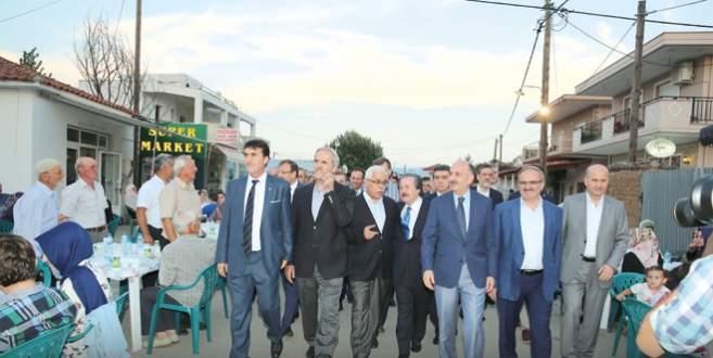 Bursa heyeti Gümülcine'de soydaşlarla özlem giderdi