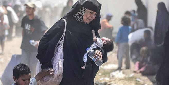 '4 milyonu aşkın Suriyeli mülteci konumuna düştü'