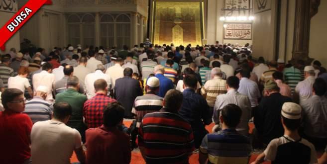 Ramazan`ın son teravihi kılındı