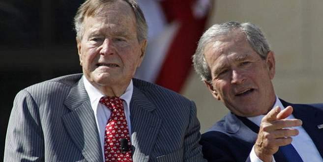 George Bush boyun kemiğini kırdı