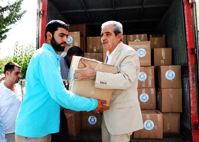 Haliliye Belediyesi'nden Personele Gıda Yardımı