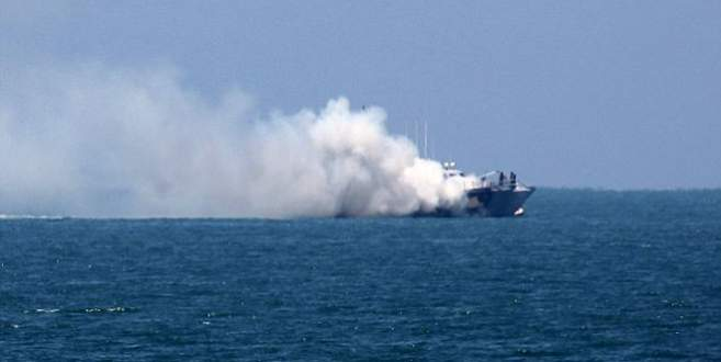 IŞİD, Mısır savaş gemisini vurdu