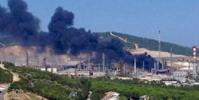 Tüpraş'ta korkutan yangın!