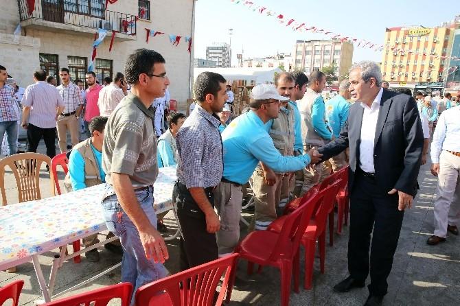 Haliliye Belediyesi 5 Bin Kişiye Pilav Ve Zerde Dağıttı