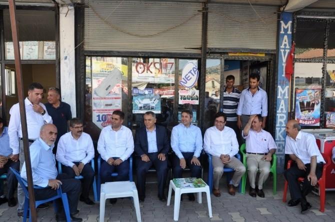 AK Parti Milletvekillerinden 'Şampiyon İlçe'ye Bayram Ziyareti