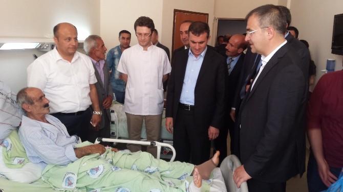 Patnos'ta Hasta Ziyareti
