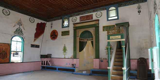 300 yıllık ahşap cami yeniden ayağa kalkıyor